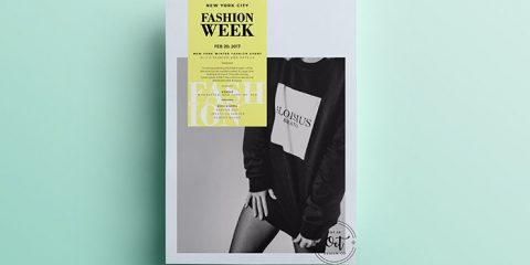 Fashion Week – Free PSD Flyer Template Vol.3