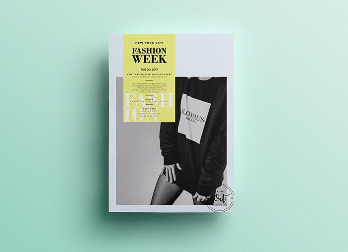 Fashion Week – Free PSD Flyer Template Vol.3