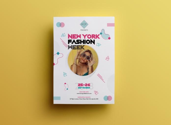 Fashion Week – Free PSD Flyer Template Vol.4