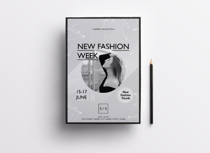 Fashion Week – Free PSD Flyer Template