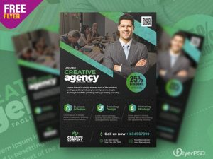 Free Business Promotion Flyer Design Template in PSD