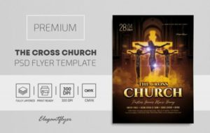 Free Church Event PSD Flyer Template