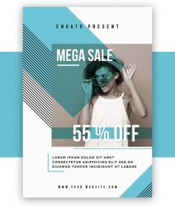 Free Fashion Show PSD Flyer Template