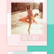 Free Fashion Show PSD Flyer Template Vol.2
