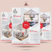 Free Real Estate Flyer Template in PSD