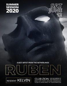 Free Ruben PSD Flyer Template