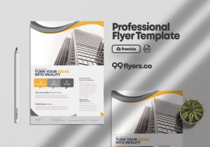 Free Success Marketing Flyer Template in PSD