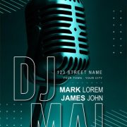 Free DJ Guest Party Flyer Template in PSD