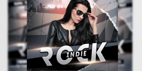 Free Indie Rock Flyer Template in PSD