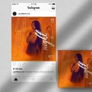 Free Ladies Night Instagram Template in PSD