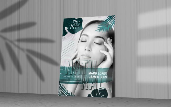 Free Makeup Flyer Template in PSD
