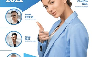 Free Marketing PSD Flyer Template