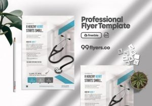 Free Medical Coronavirus Flyer Template in PSD