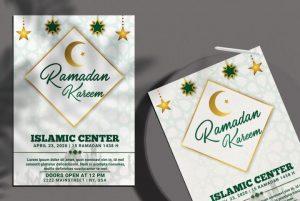 Ramadan Kareem Flyer Template in PSD vol.2