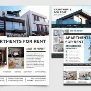Free Apartments For Sale Flyer Template in PSD