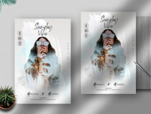 Free Sunday Vibe Flyer Template in PSD