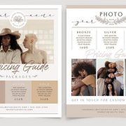 Free Photography Flyer Template in PSD