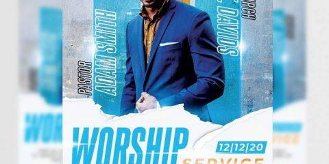 Free Church FlyerTemplate in PSD