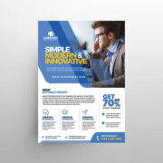 Business Corporate Ads Free Flyer Template (PSD)