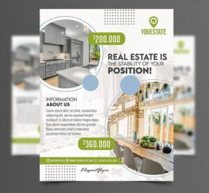 Real Estate Business Free Flyer Template (PSD)